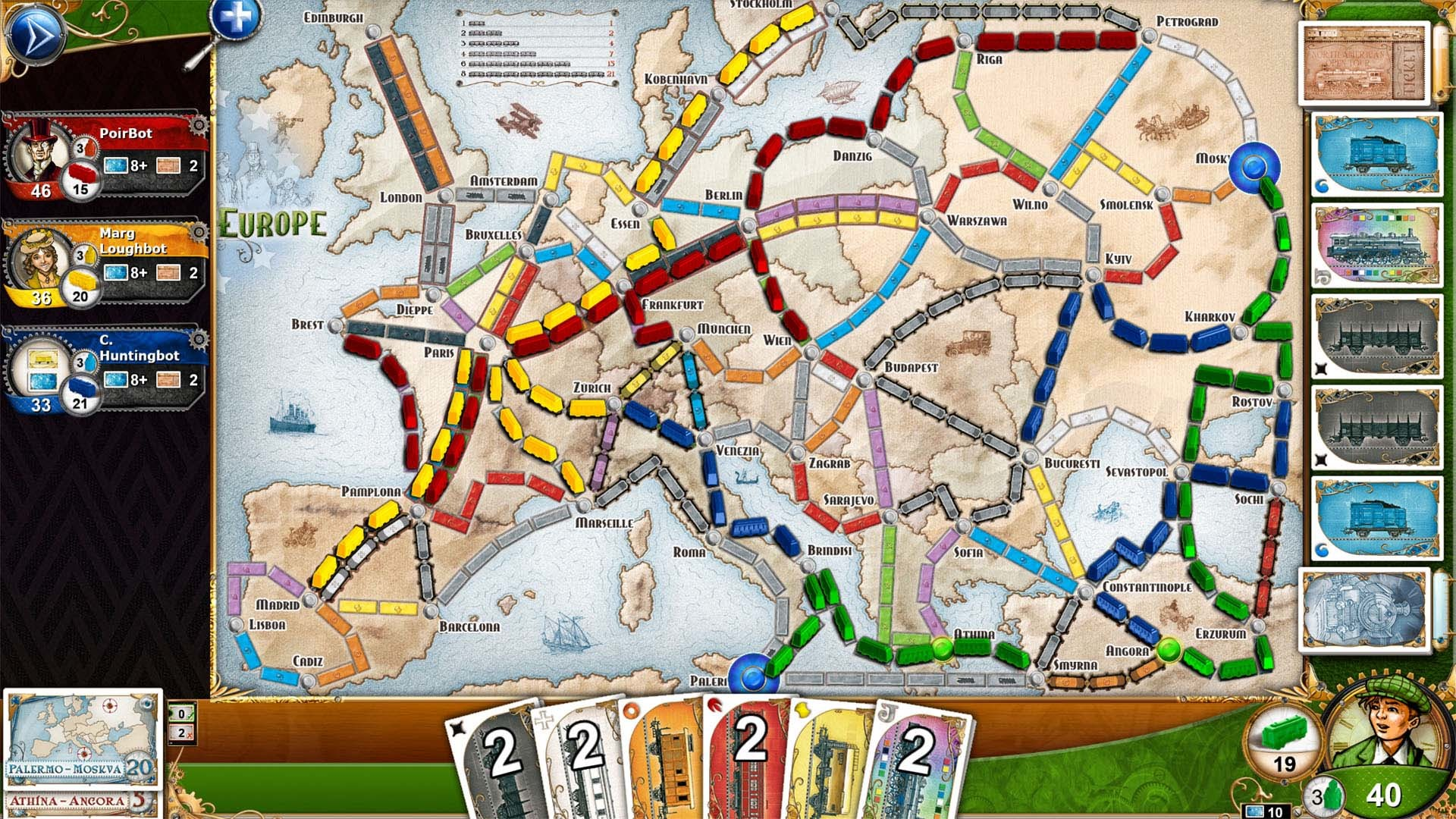 Save 40 On Ticket To Ride Europe On Steam