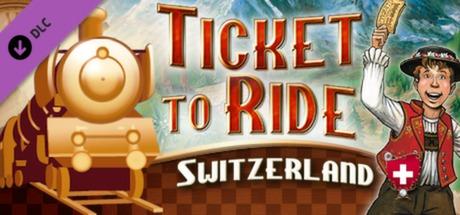 Ticket to Ride Switzerland DLC
