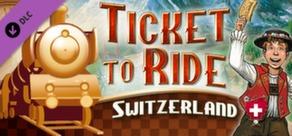 Ticket to Ride - Switzerland cover art