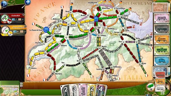 Ticket to Ride - Switzerland (DLC)