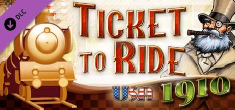 Ticket to Ride USA 1910 DLC