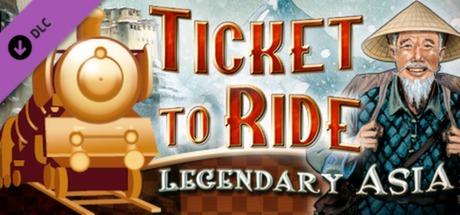 Ticket to Ride Legendary Asia DLC