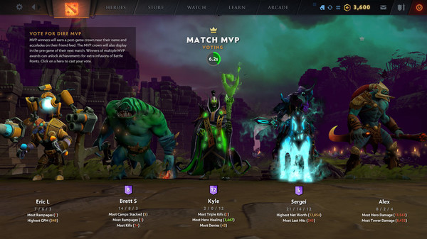 скриншот The International 2019 Battle Level Bundle 4