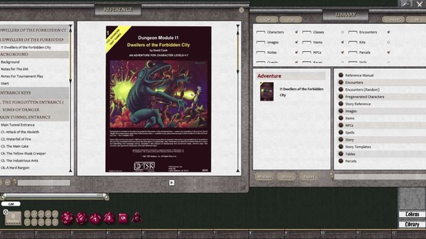 Fantasy Grounds - D&D Classics: I1 Dwellers of the Forbidden City (2E) (DLC)
