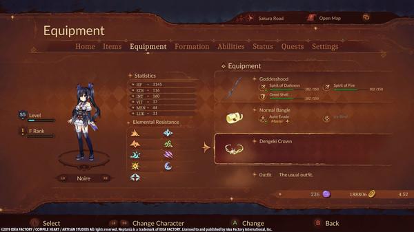 Super Neptunia RPG Dengeki Accessory Set (DLC)