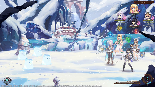 Super Neptunia RPG Famitsu Weapon Set (DLC)