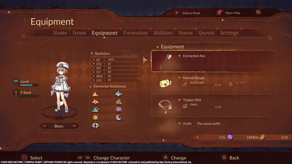 Super Neptunia RPG Enchanted Weapon Set (DLC)