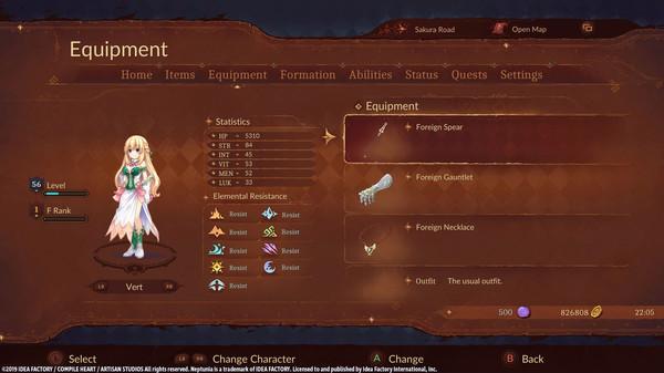 Super Neptunia RPG [Foreign Series] Equipment Set (DLC)