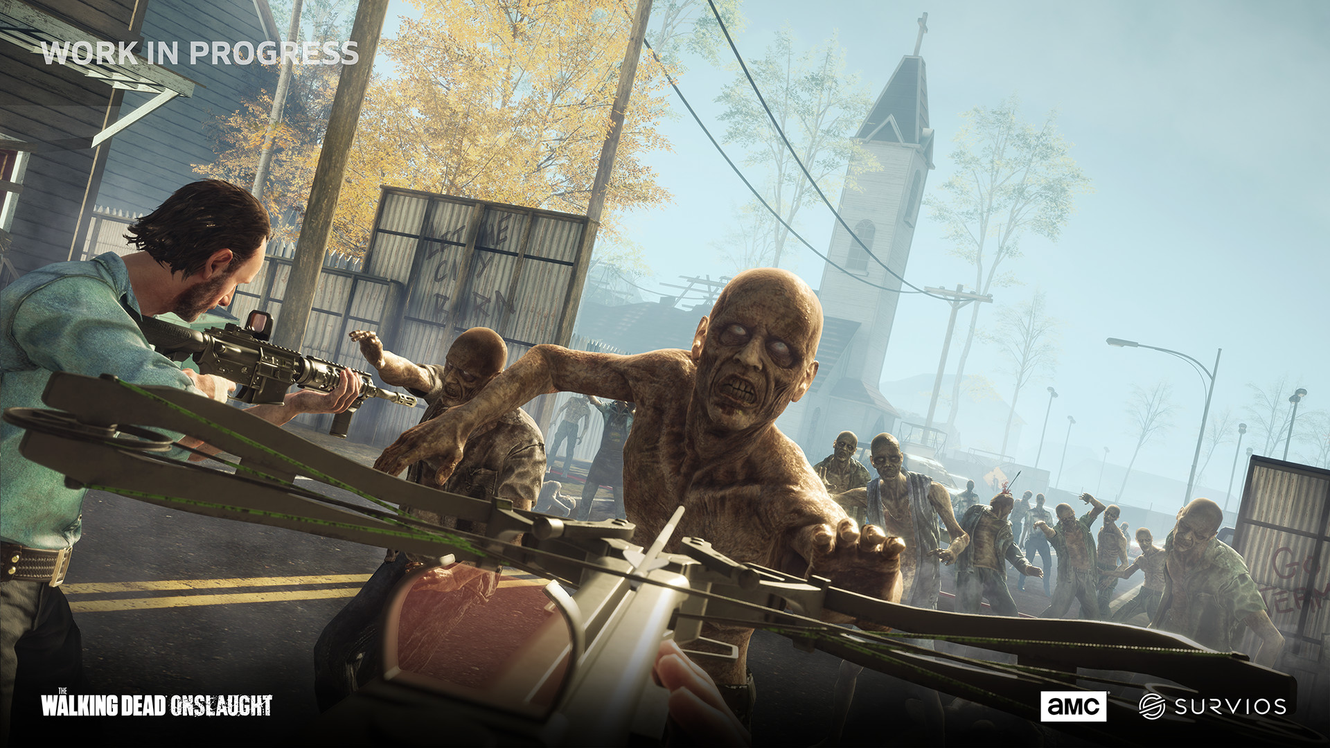 The Walking Dead Onslaught on Steam