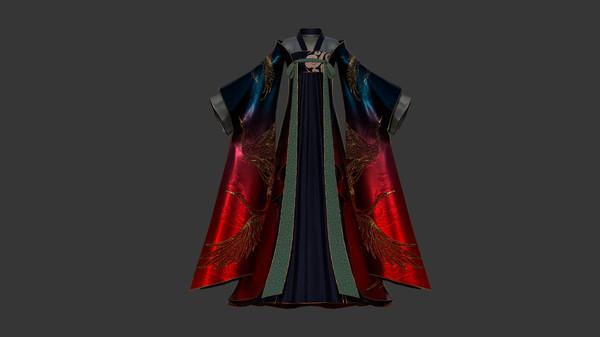 探灵笔记-古墓地宫系列:璃焕霄-流霞裙(附送29999灵币) (DLC)
