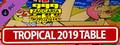 Zaccaria Pinball - Tropical 2019 Table