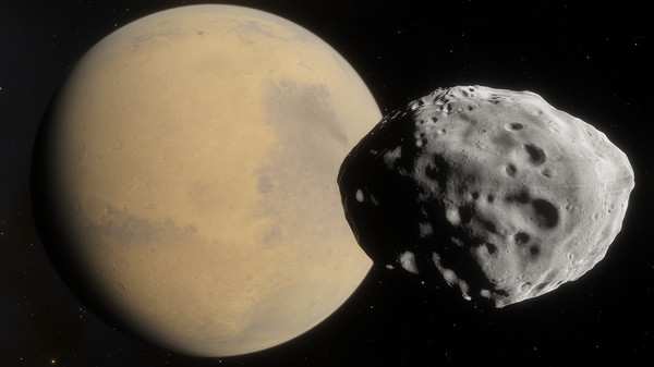 SpaceEngine - Mars HD (DLC)