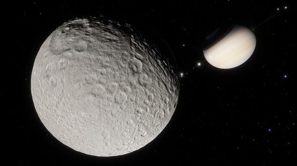 SpaceEngine - Saturn System HD (DLC)
