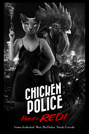 Chicken Police poster image on Steam Backlog