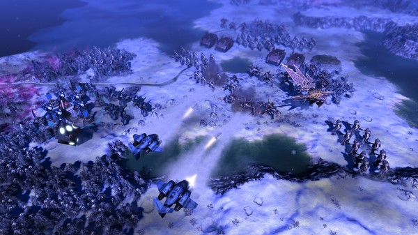 Warhammer 40000 Gladius Chaos Space Marines ScreenShot 2