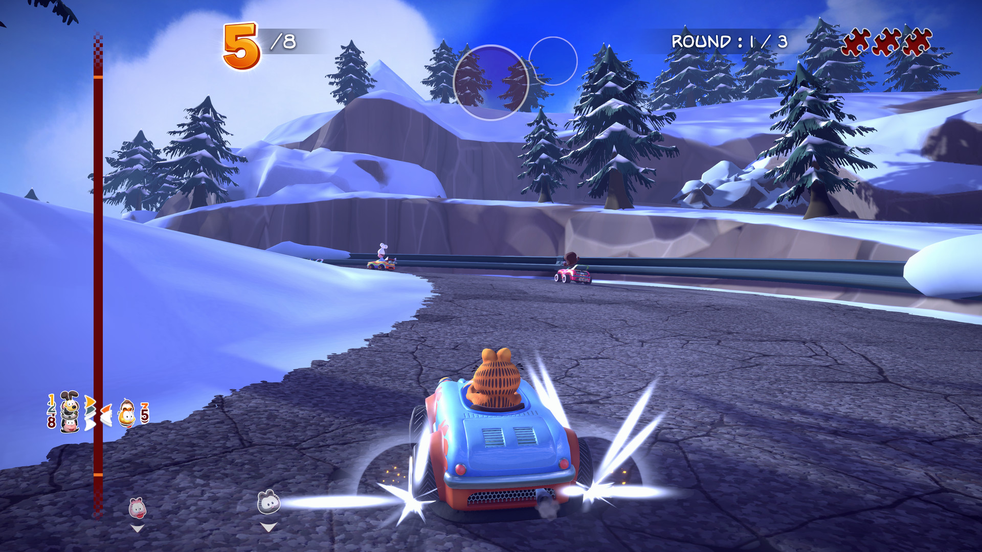 Garfield Kart Furious Racing On Steam