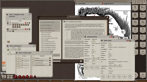 Fantasy Grounds - Dungeon Crawl Classics #86: Hole in the Sky (DCC) (DLC)