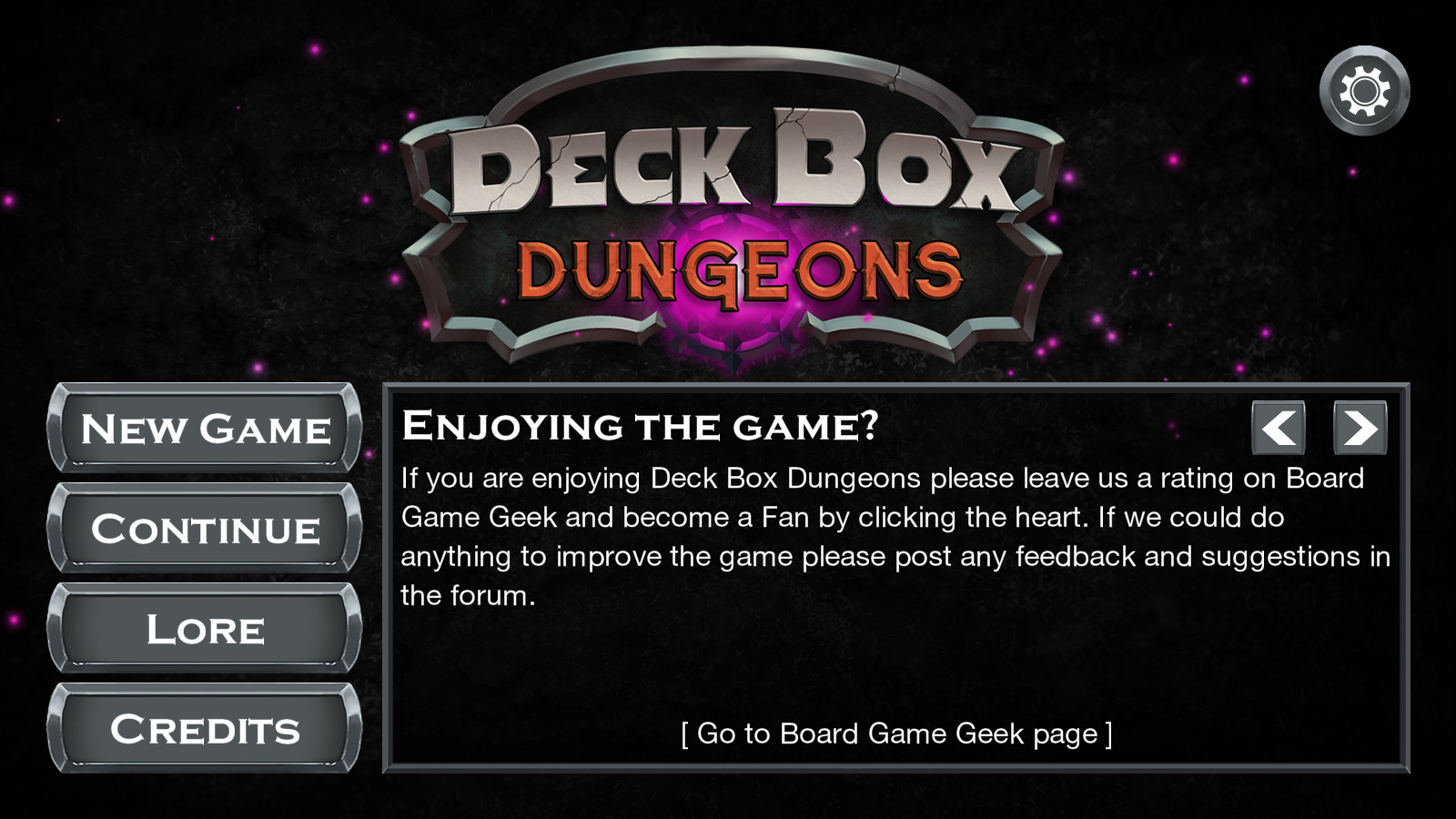 What's On Steam - Deck Box Dungeons