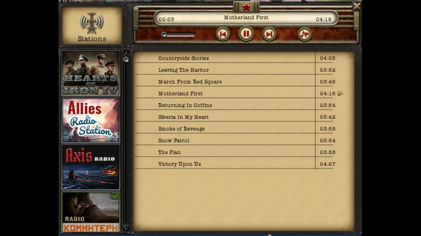 Hearts of Iron IV: Radio Pack (DLC)