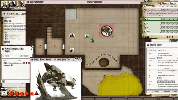 Fantasy Grounds - Pathfinder RPG - Iron Gods AP 5: Palace of Fallen Stars (PFRPG) (DLC)