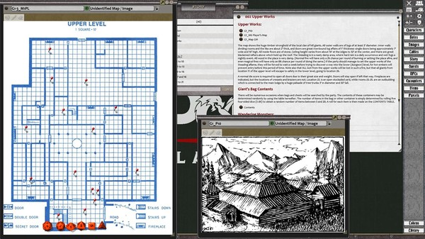Fantasy Grounds - D&D Classics: G1 Steading of the Hill Giant Chief (2E) (DLC)