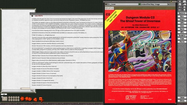 Fantasy Grounds - D&D Classics: C2 The Ghost Tower of Inverness (2E) (DLC)