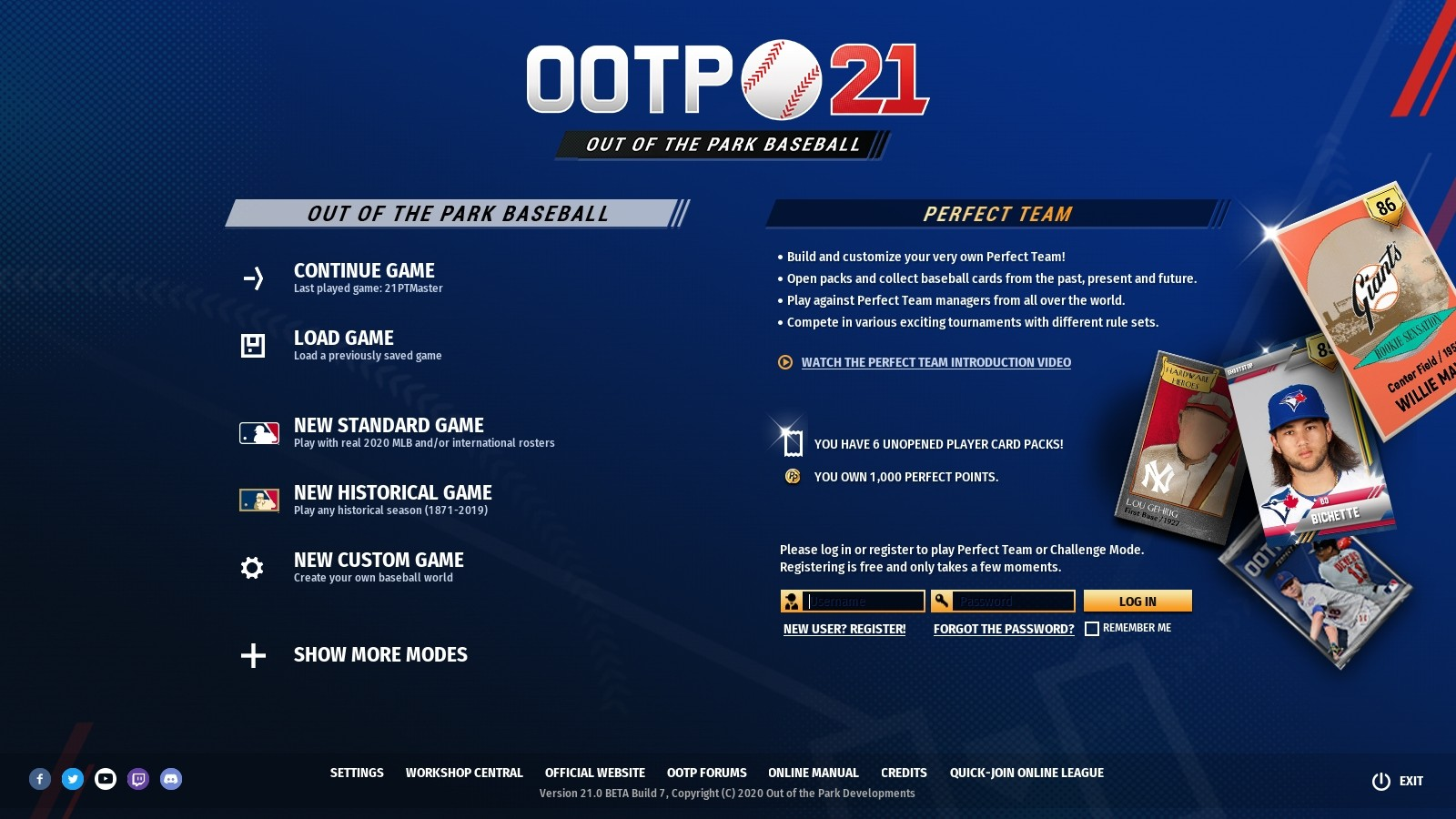 Find the best laptop for OotPB21