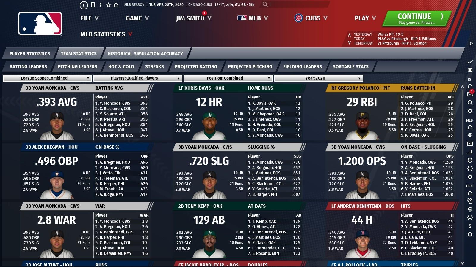 Out of the Park Baseball 21 Screenshot 3