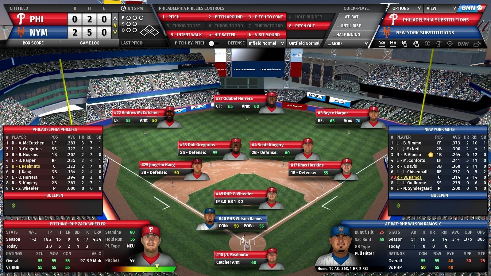 Out of the Park Baseball 21 Screenshot 1