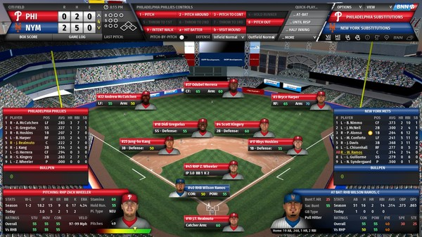 скриншот Out of the Park Baseball 21 1