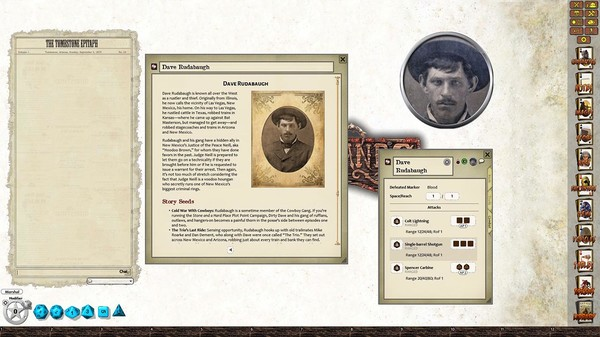 Fantasy Grounds - Lone Killers of the Southwest (Savage Worlds) (DLC)