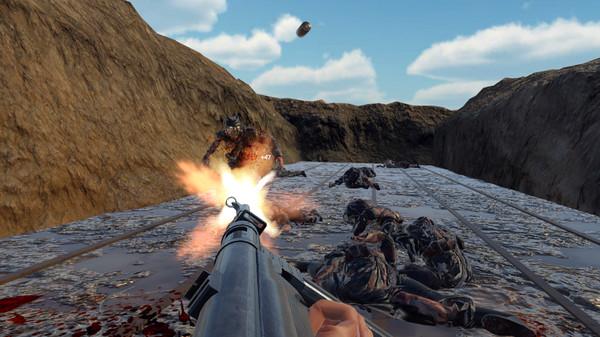 WW2 Zombie Range VR