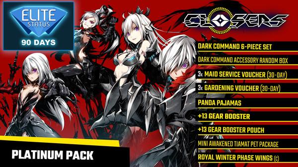 Closers: Platinum Pack (DLC)