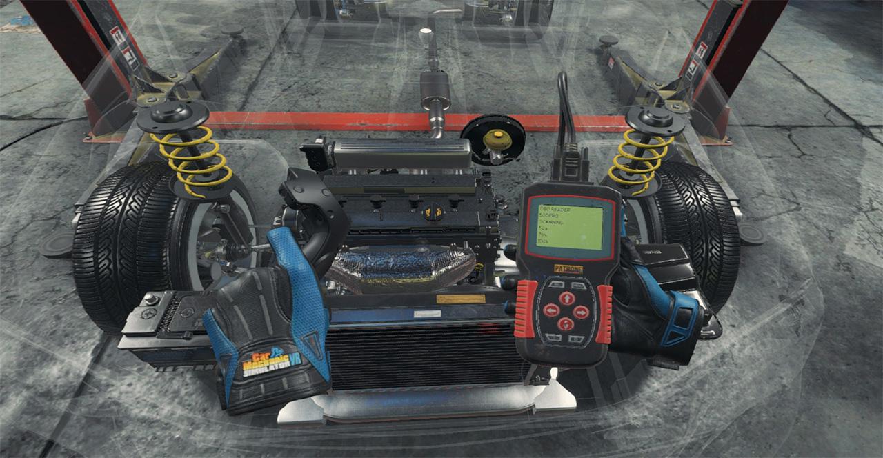 Car Mechanic Simulator Vr A Steamen