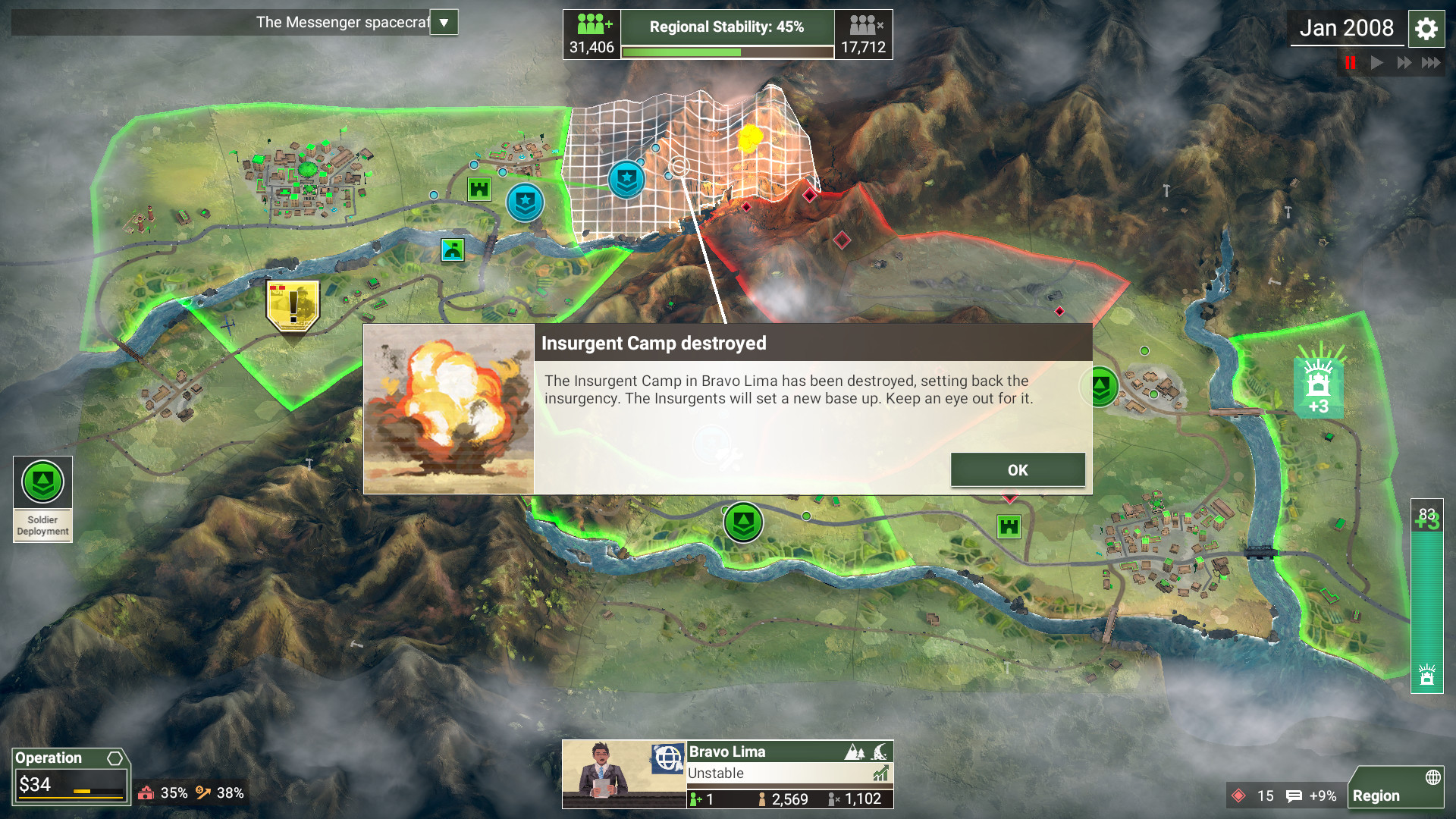 Rebel Inc: Escalation Steam'de