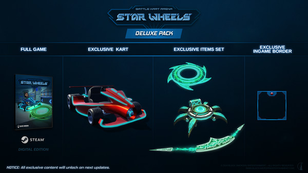 StarWheels - Deluxe Pack (DLC)