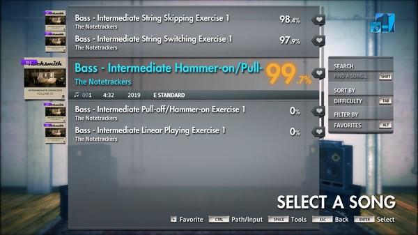 Скриншот №2 к Rocksmith® 2014 Edition – Remastered – Rocksmith Intermediate Exercises Vol. 1