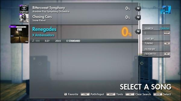 "Скриншот №5 к Rocksmith® 2014 Edition – Remastered – X Ambassadors - ""Renegades"""