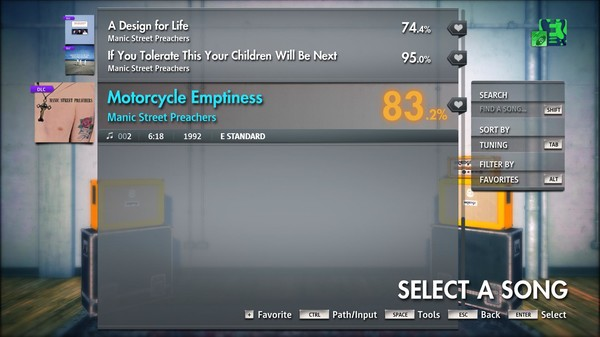 "Rocksmith® 2014 Edition – Remastered – Manic Street Preachers - ""Motorcycle Emptiness"" (DLC)"