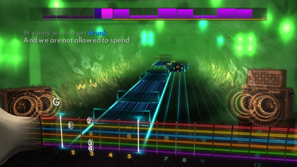 "Скриншот №5 к Rocksmith® 2014 Edition – Remastered – Manic Street Preachers - ""A Design for Life"""