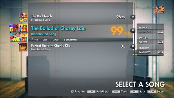"""Скриншот №3 к Rocksmith® 2014 Edition – Remastered – Bloodhound Gang - """"The Ballad of Chasey Lain"""""""