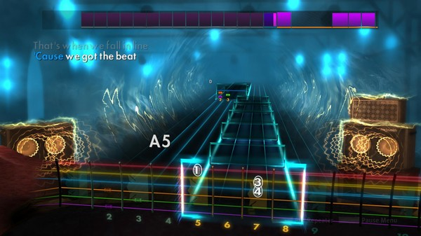 "Скриншот №4 к Rocksmith® 2014 Edition – Remastered – The Go-Gos - ""We Got the Beat"""