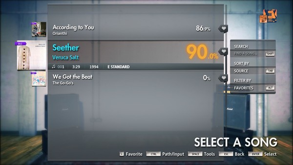 "Скриншот №2 к Rocksmith® 2014 Edition – Remastered – Veruca Salt - ""Seether"""