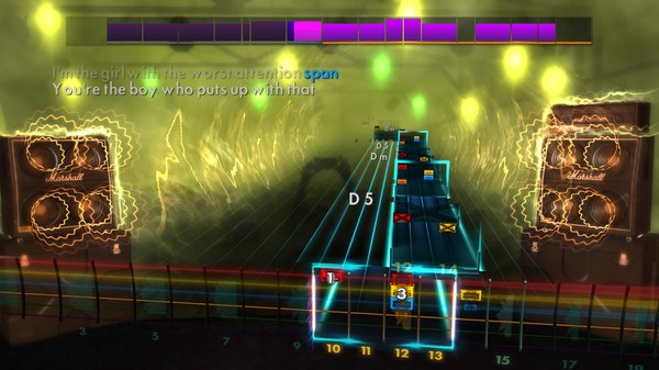 "Скриншот №2 к Rocksmith® 2014 Edition – Remastered – Orianthi - ""According to You"""