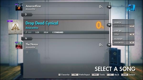 "Скриншот №4 к Rocksmith® 2014 Edition – Remastered – Amaranthe - ""Drop Dead Cynical"""