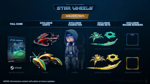 StarWheels - Golden Pack (DLC)