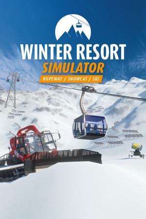 Winter Resort Simulator poster image on Steam Backlog