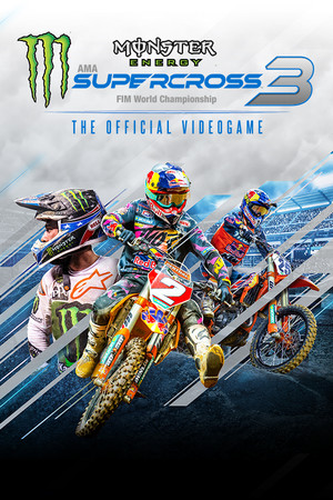 Monster Energy Supercross - The Official Videogame 3 poster image on Steam Backlog