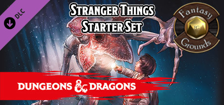 Купить Fantasy Grounds - Stranger Things Dungeons & Dragons Starter Set (DLC)