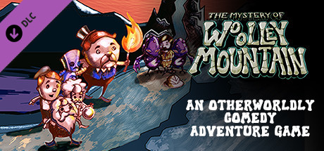 The Mystery Of Woolley Mountain Soundtrack cover art